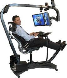 ergonomic computer station