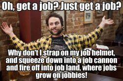 job hunting hell