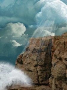 cliff storm