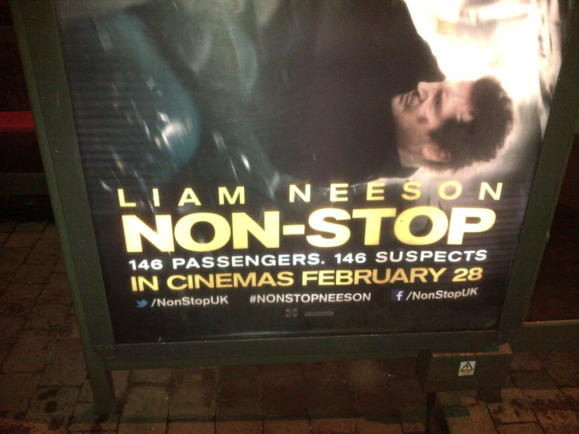 Non-Stop...terrible taglines.