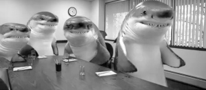 advertising sharks