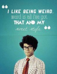 moss it crowd richard ayoade