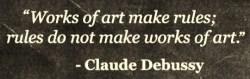 claude debussy quote