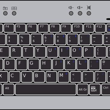 keyboard writing
