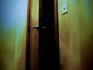 Bedroom door scary
