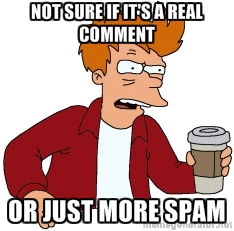 futurama comment spam