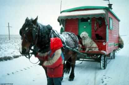 around the world by horse and caravan