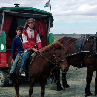 around the world horses fionn eilidh