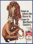 Marlboro Country cigarette advertising