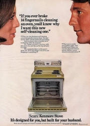 Sexism in advertising selling an oven